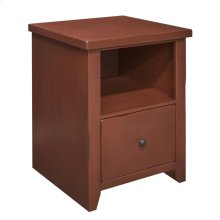 Calistoga Red File Cabinet