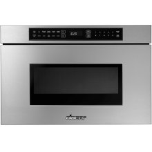 "Heritage 24"" Microwave-In-A-Drawer - Black"