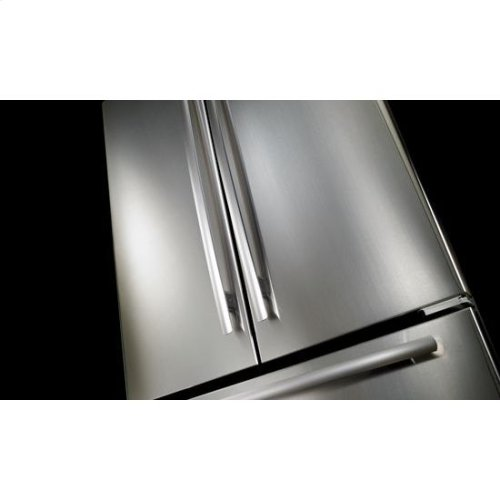 "Jenn-Air® 72"" Counter Depth French Door Refrigerator, Euro-Style Stainless Handle"