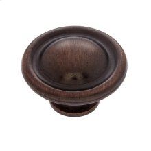 "Old World Bronze 1-1/2"" Dome Knob"