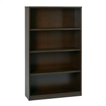"36wx12dx60h 4-shelf Bookcase With 1"" Thick Shelves -"