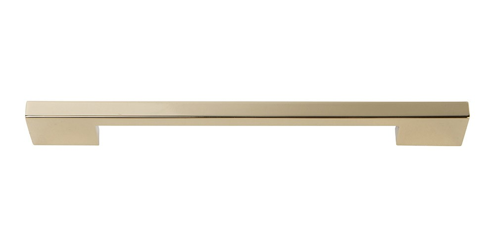 Thin Square Pull 7 9/16 Inch (c-c) - French Gold