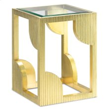 Morneau Brass Side Table
