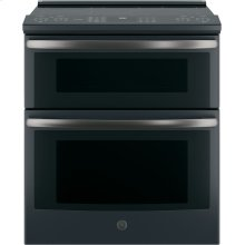 "GE Profile™ 30"" Slide-In Electric Double Oven Convection Range"