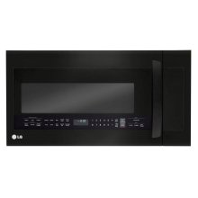 LG Matte Black Stainless Steel 2.0 cu.ft. Over-the-Range Microwave Oven with EasyClean®