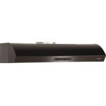 "Broan 300 CFM 36"" wide Undercabinet Range Hood in Black"
