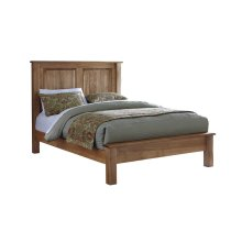 Burwick Panel Bed with Low Footboard - Full