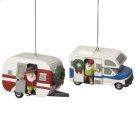 RV and Camper Ornament (2 asstd). Product Image