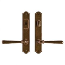 """Arched Multi-Point Entry Set - 1 3/4"""" x 10"""" Silicon Bronze Brushed"""