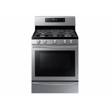 5.8 cu. ft. Gas Range with True Convection in Stainless Steel
