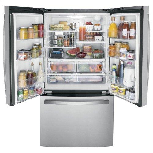 GE® ENERGY STAR® 27.0 Cu. Ft. French-Door Refrigerator