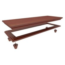 Crown and Base for 4230/4240/4250 : Chestnut