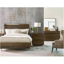 Luna King Panel Bed Complete