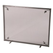 Iron Fire screen - Leaf Collection - Single Panel with Feet