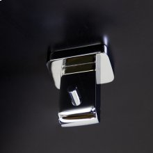 Wall mount robe hook made of chrome plated brass
