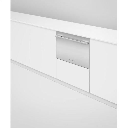 Integrated Single DishDrawer Dishwasher, Tall, Sanitize