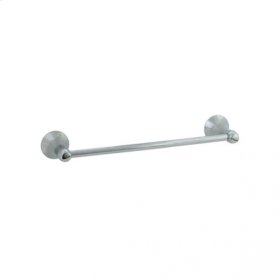 "Brookhaven - Towel Bar With Barrel Posts 18"" - Brushed Nickel"