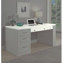 Catalina 60 in. Writing Desk top with PWR Ctr and USB