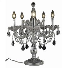 2800 Maria Theresa Collection Table Lamp Chrome Finish