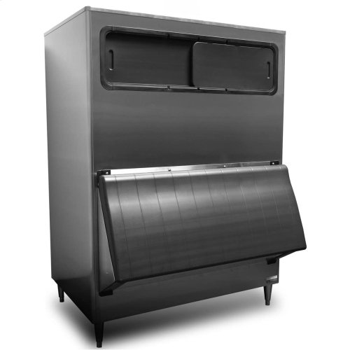"B-1300SS, 48"" W High Capacity Ice Storage Bin - Stainless Steel Exterior"