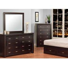 Contempo 8 Drawer Dresser