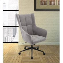 DC#206-HAR - DESK CHAIR Fabric Desk Chair