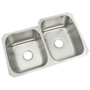 "McAllister® Undercounter Double-basin Kitchen Sink, 31-3/4"" x 18"" / 20-3/4"" Product Image"