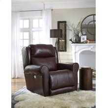 Large Power Recliner with Power Headrest