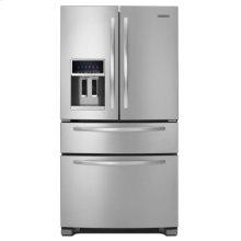 24 Cu. Ft. Standard-Depth Four Door French Door Refrigerator, Architect® Series II - Monochromatic Stainless Steel