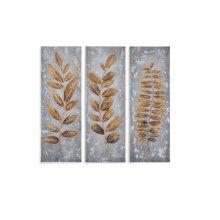 Metallic Leaves (S/3)