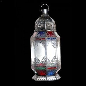 Ely Glass LanTern Multi Color Product Image