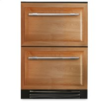 24 Inch Overlay Panels Undercounter Refrigerator Drawer - Overlay Panels
