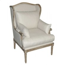Baylor Linen Wing Chair