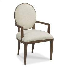 Ovale Arm Chair