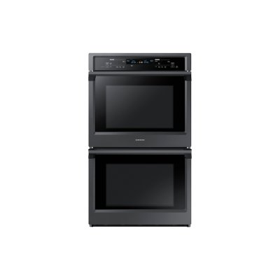 """30"""" Double Wall Oven in Black Stainless Steel Product Image"""
