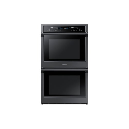 "30"" Double Wall Oven in Black Stainless Steel"