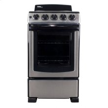 """Danby 20"""" Free Standing Coil Stainless Steel Range"""
