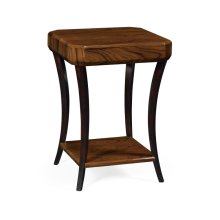 Art Deco Satin Square Side Table