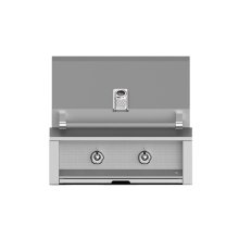"Grill, Built-in, (2) U-burner, 30"" -lp"