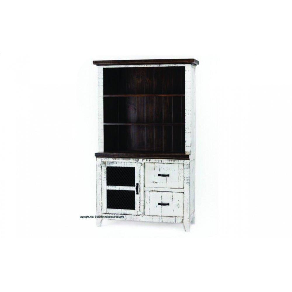 Casa Blanca Bookcase & Cabinet