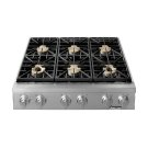 """36"""" Heritage Range Top-SS Natural Gas high Alt. Product Image"""
