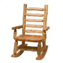 Rocking Chair - Natural Cedar - Wood seat