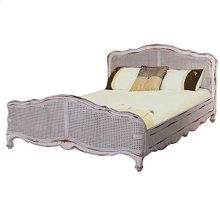 Covington Rattan Bed - Low