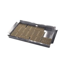 Flat Ceramic Briquettes With Basket for Pro Grill
