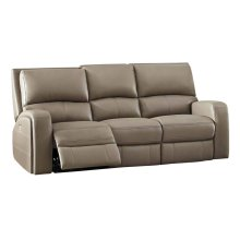 Power Reclining Sofa in Driftwood-Bone