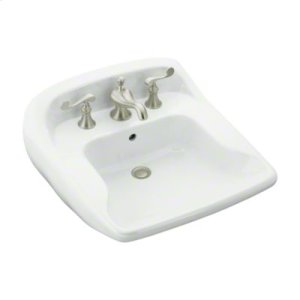 "Worthington™ 21"" x 22"" Barrier-Free Lavatory - White Product Image"