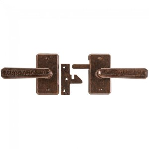 Hammered Gate Hardware Silicon Bronze Brushed Product Image