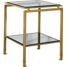 Montpelier Accent Table Base & Glass Top/Shelf