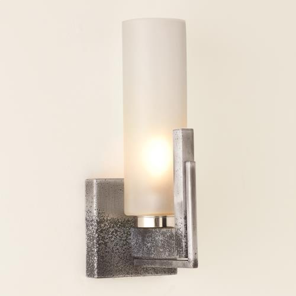 Stoic Sconce-Ombre Nickel-HW