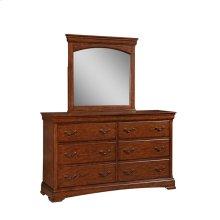 Rhone Manor Media Dresser Mirror